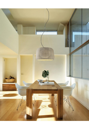 Bover Fora S beige lampshad