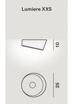 Foscarini Lumiere XXS Soffitto LED spare part