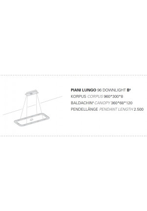 Piani Lungo set of canopy ropes
