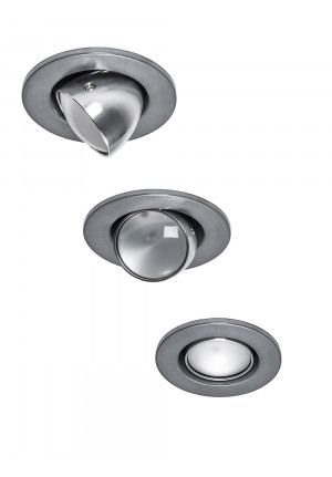 Less'n'more Mimix Concrete Downlight casing grey