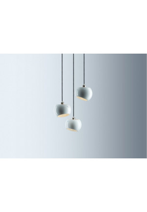 Licht im Raum White Moons 3 Chandelier