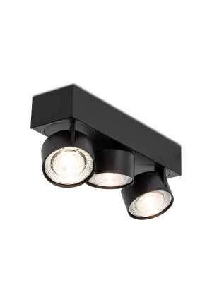 Mawa Wittenberg 4.0 ceiling lamp 3-lights LED black
