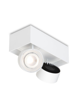 Mawa Wittenberg 4.0 ceiling lamp semi-flush 2-lights LED white