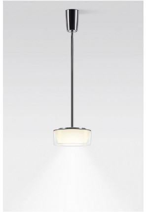 Serien Lighting Curling Suspension Tube Acryl clear / conical opal M