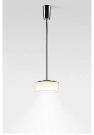 Serien Lighting Curling Suspension Tube Acryl clear / cylindric opal S