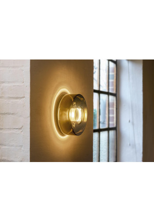 Serien Lighting Curling Wall new silver S