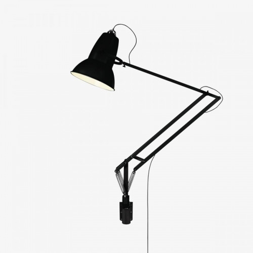 Anglepoise Original 1227 Giant Lamp with Wall Bracket schwarz matt