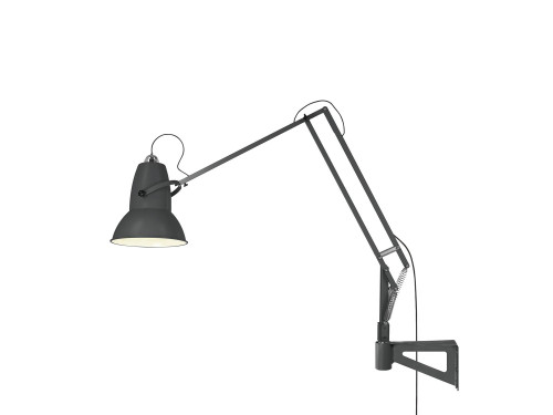 Anglepoise Original 1227 Giant Lamp with Wall Bracket grau