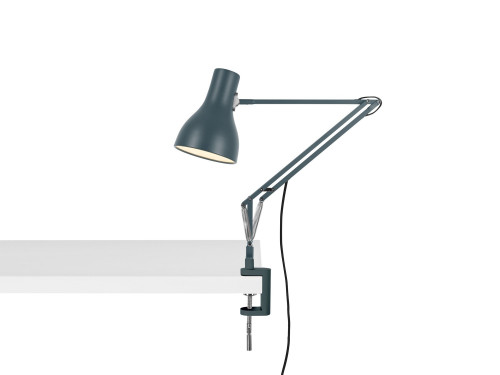 Anglepoise Type 75 Lamp with Desk Clamp grau