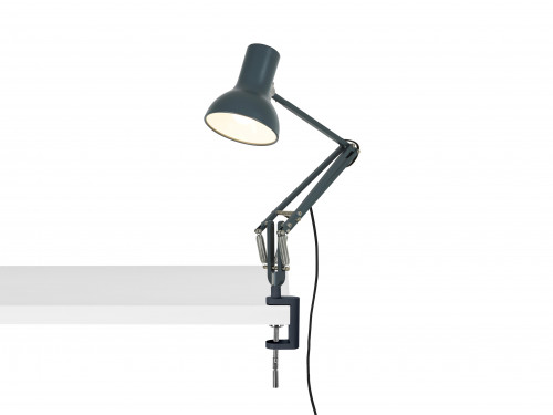 Anglepoise Type 75 Mini Lamp with Desk Clamp grau