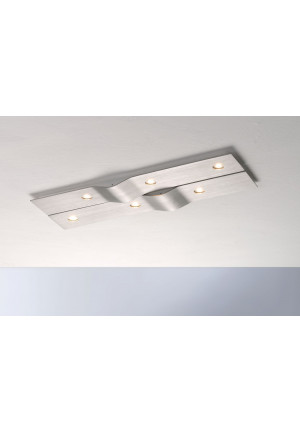 Bopp Wave rectangular 6-lights anthracite