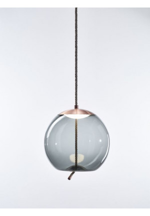 Brokis Knot Sfera smoke grey, reflector copper