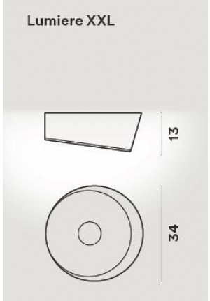 Foscarini Lumiere XXL Soffitto Parete LED spare part