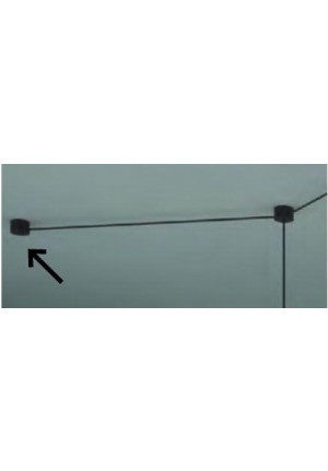 Steng Aircooled canopy B for decentral power connection black