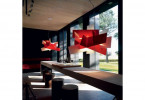 Foscarini Big Bang Sospensione rot