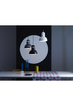 Anglepoise Type 75 Maxi Pendant grey, black and white