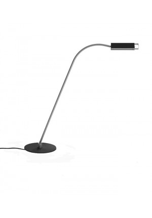 Anta Flexon lamp arm aluminum, lamp shade and lamp base black