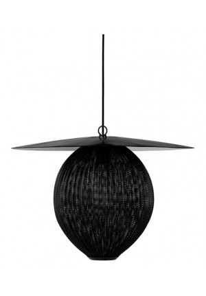 GUBI Satellite Pendant L black