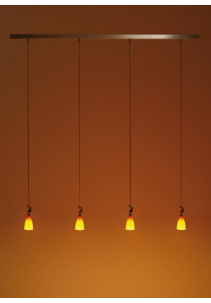 K-meral Cecil pendant lamp 4-light with TIWI
