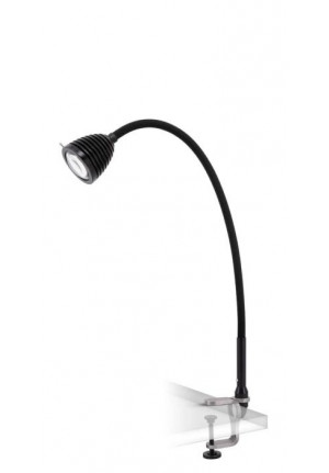 Less'n'more Athene Clamp Light small A-KL1 black, flex arm textile black