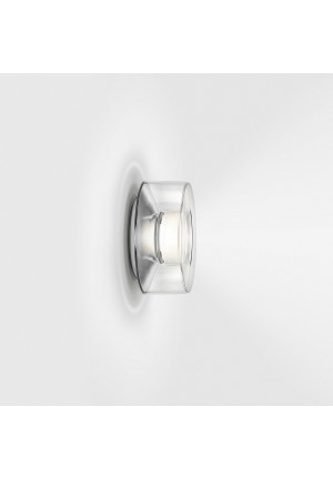 Serien Lighting Curling Wall Acryl clear S