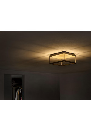 Serien Lighting Reflex2 Ceiling M150 ,body black-reflector gold