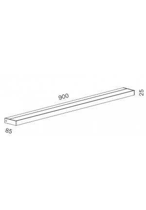 Serien Lighting SML2 Wall 900 White