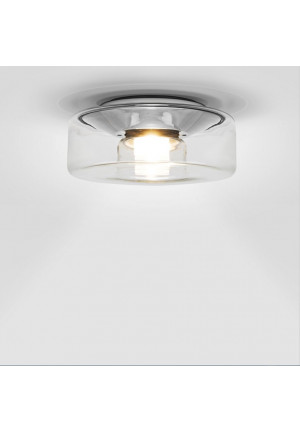 Serien Lighting Curling Ceiling LED clear