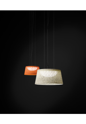 Vibia Wind 4070 orange and white