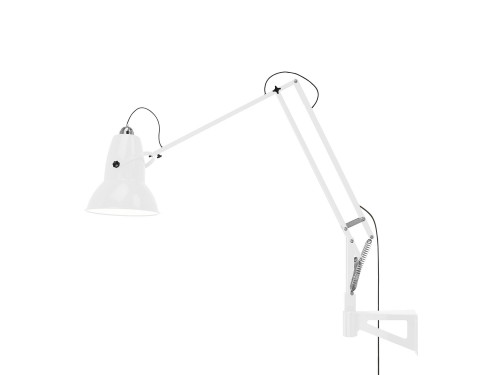 Anglepoise Original 1227 Giant Lamp with Wall Bracket white