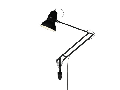Anglepoise Original 1227 Giant Outdoor Lamp with Wall Bracket satin black