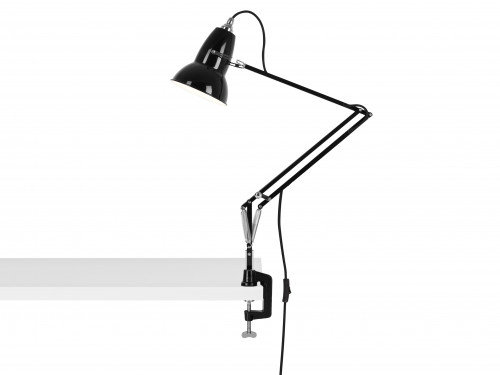 Anglepoise Original 1227 Lamp with Desk Clamp black