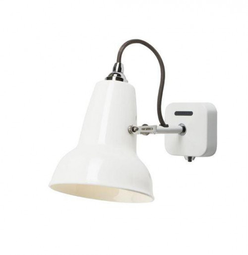 Anglepoise Original 1227 Mini Ceramic Wall Light switched off