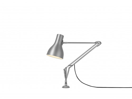 Anglepoise Type 75 Lamp with Desk Insert silver