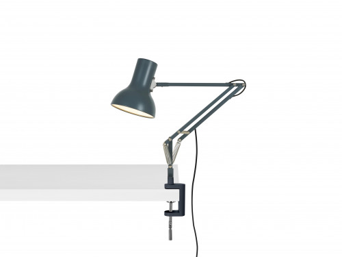 Anglepoise Type 75 Mini Lamp with Desk Clamp grey