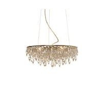 Anthologie Quartett Crystal Rain Pending Lamp round diameter 60 cm