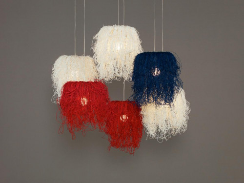 Arturo Alvarez Caos CA04A-6 colour combination with three white, two red and one blue lamp