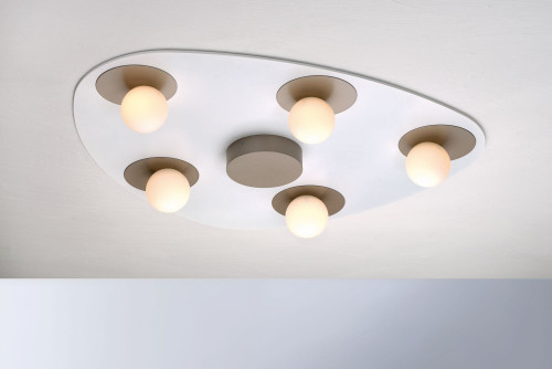 Bopp Planets 5-lights taupe