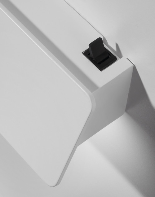 Bover Alba 60 white optional on-off switch
