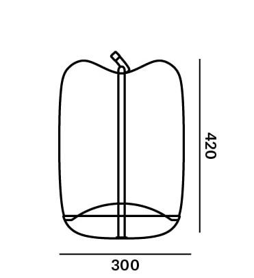 Brokis Knot Battery graphic