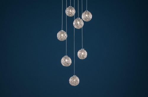 Catellani & Smith Sweet Light Chandelier with 7 lights