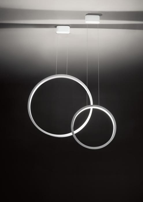 Cini & Nils Assolo 70 pendant lamp white (at the left)
