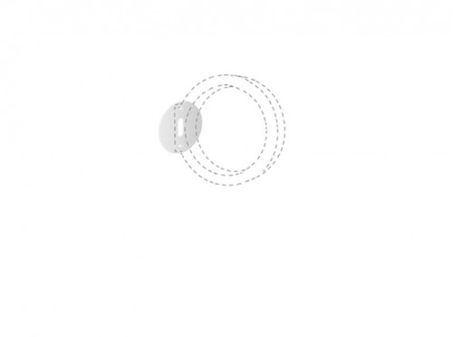 Cini & Nils Assolo Outdoor wall and ceiling lamp round plate graphic