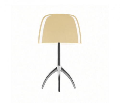 Foscarini Lumiere 05 Piccola heated warm frame alu on-switched