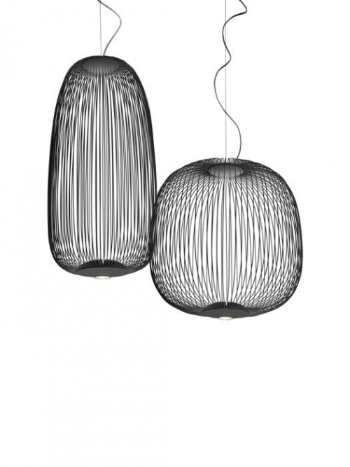 Foscarini Spokes 1 MyLight and 2 MyLight graphite