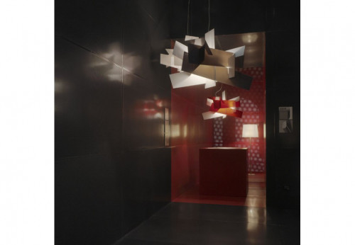 Foscarini Big Bang XL white and red