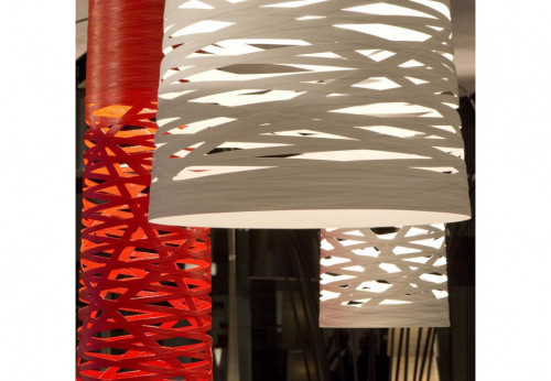 Foscarini Tress Sospensione Media, Grande and Piccola