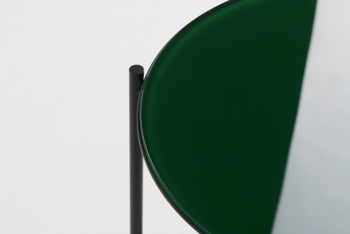 Grupa Igram Lamp and Table, table top glass green (only on request)