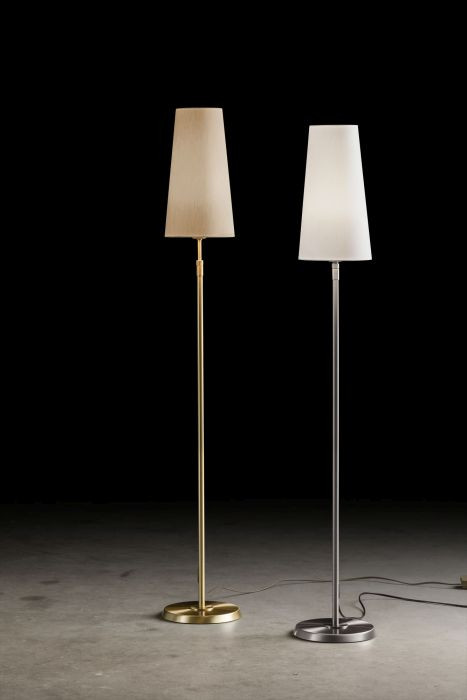 Holtkötter 6354 18cm brass, shade sand and nickel, shade white