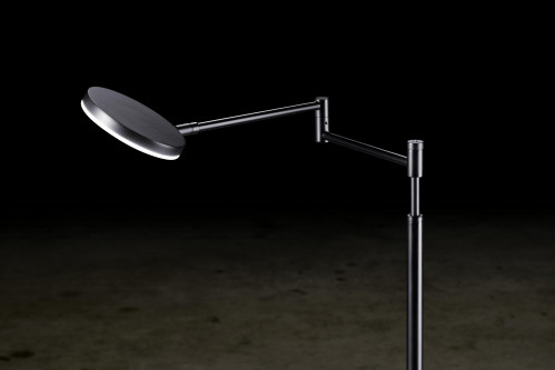 Holtkötter Plano B lamp head, arm and rod black